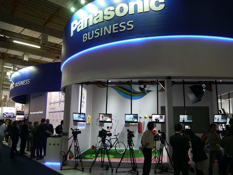 SET EXPO 2015のパナソニックブースの様子