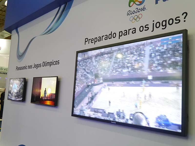 家庭用液晶テレビの需要も増加しているという。パナソニックはブラジル国内で4Kテレビの生産も開始した