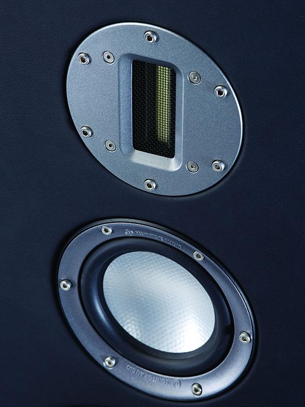 Platinumシリーズに搭載されているC-CAMリボン型ツイータ