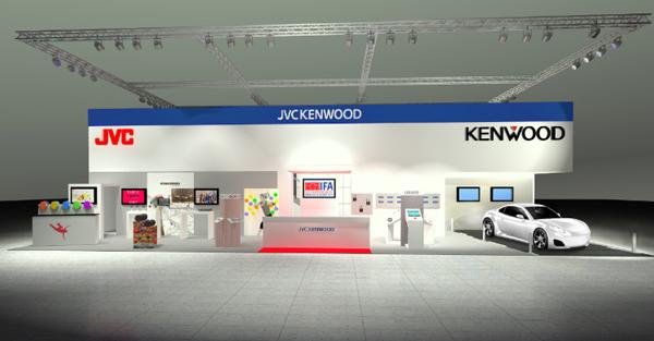 JVCケンウッドのブースイメージ