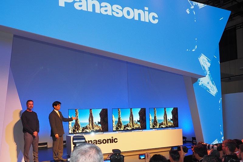 パナソニックが有機ELテレビを欧州で発売する
