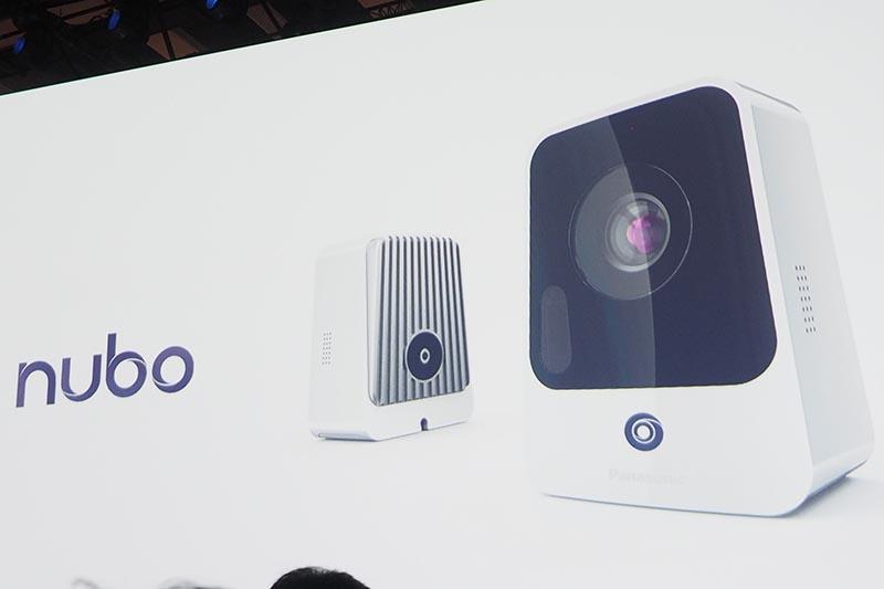 4G LTE対応カメラ「Nubo」をAbadie氏が紹介した