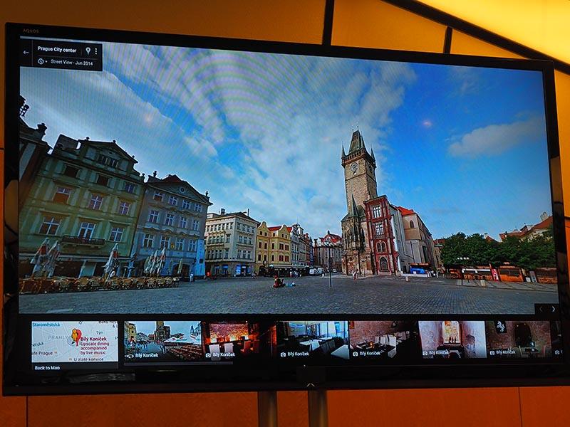 Google Mapやストリートビューとの連携し、ユーザー自身や他のユーザーが掲載した360度動画を楽しむといった様々な使い方を紹介した