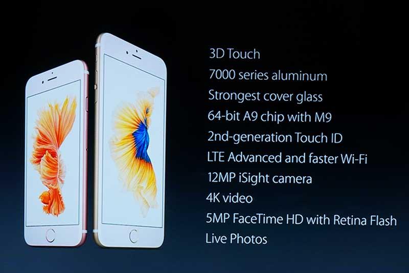 iPhone 6s/6s Plusの特徴