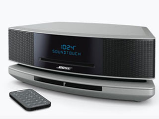 Wave SoundTouch music system IVのプラチナム・シルバー