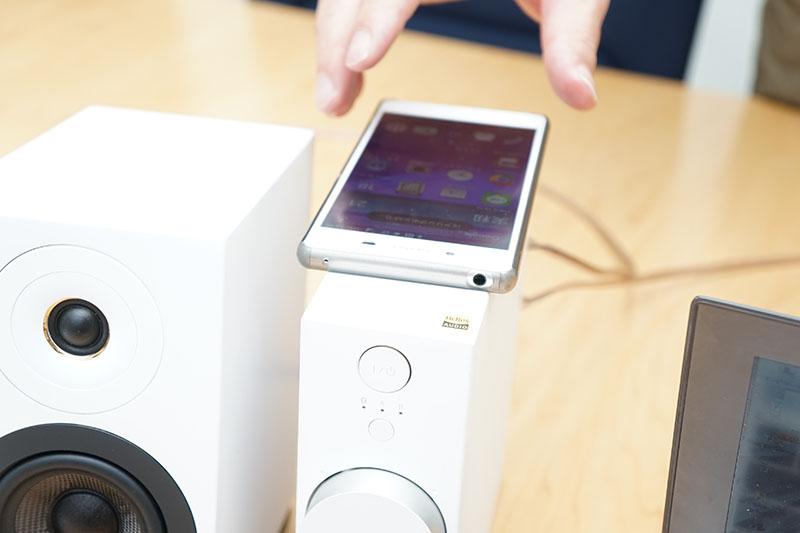 Bluetoothを搭載し、NFCでワンタッチしてペアリングすることも可能