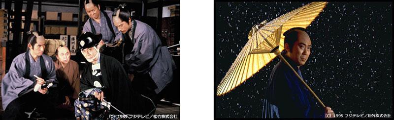 鬼平犯科帳 第1シリーズ(左)と第6シリーズ(右)