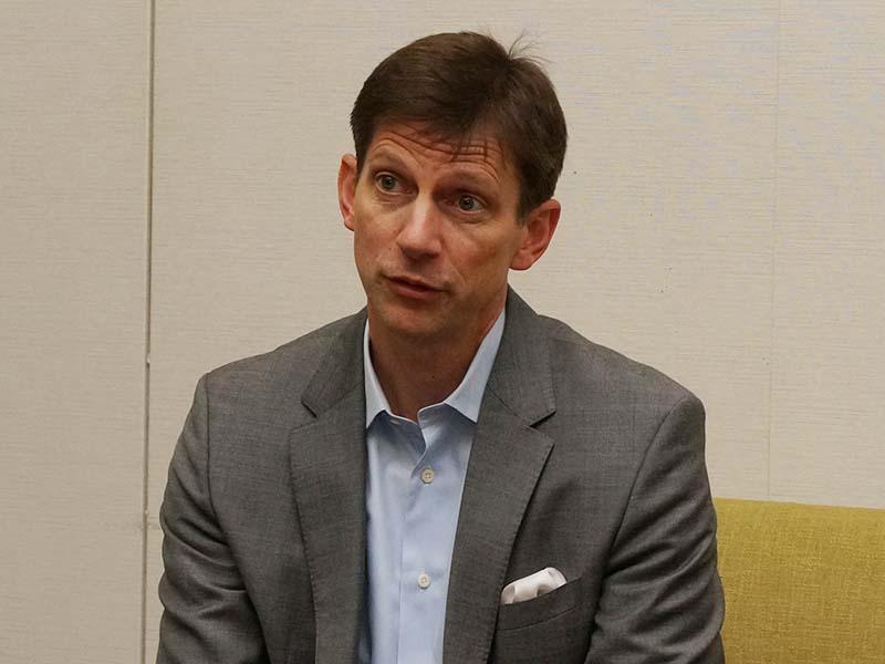 Amazon Video国際部・副社長のティム・レスリー氏