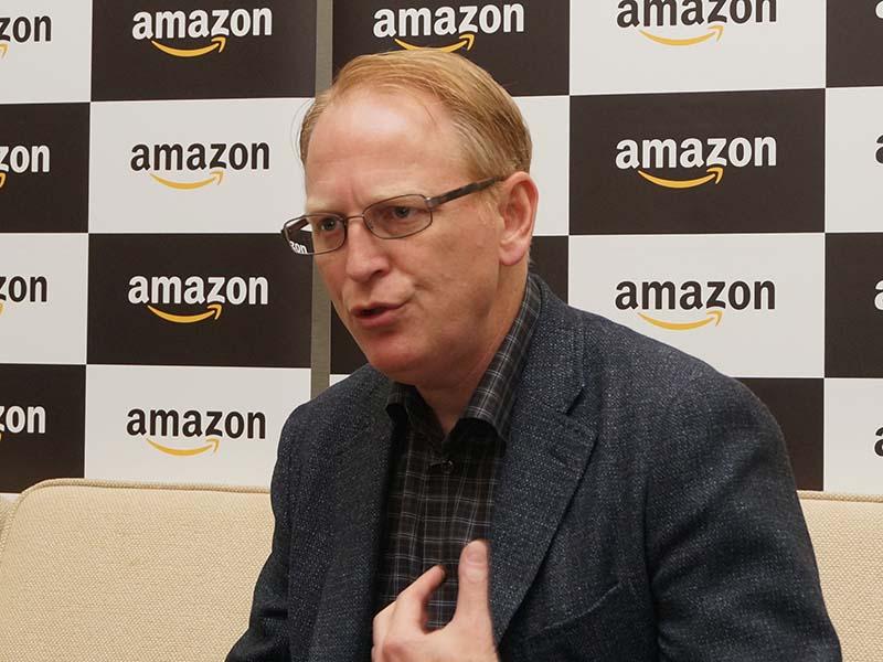 Amazon Devices シニアバイスプレジデントのデイブ・リンプ氏