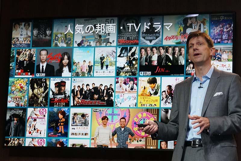 日本のコンテンツを拡充