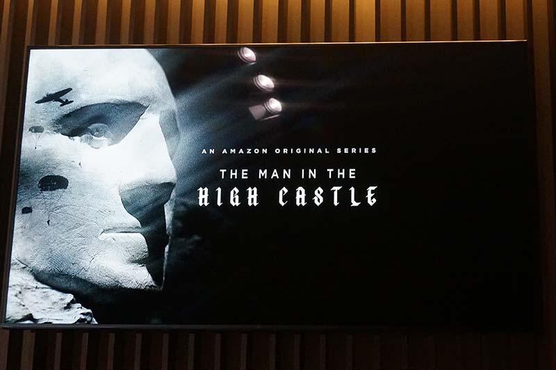 「The Man in the High Castle」(フィリップ・K・ディック原作の「高い城の男」)。オリジナルコンテンツは4K制作