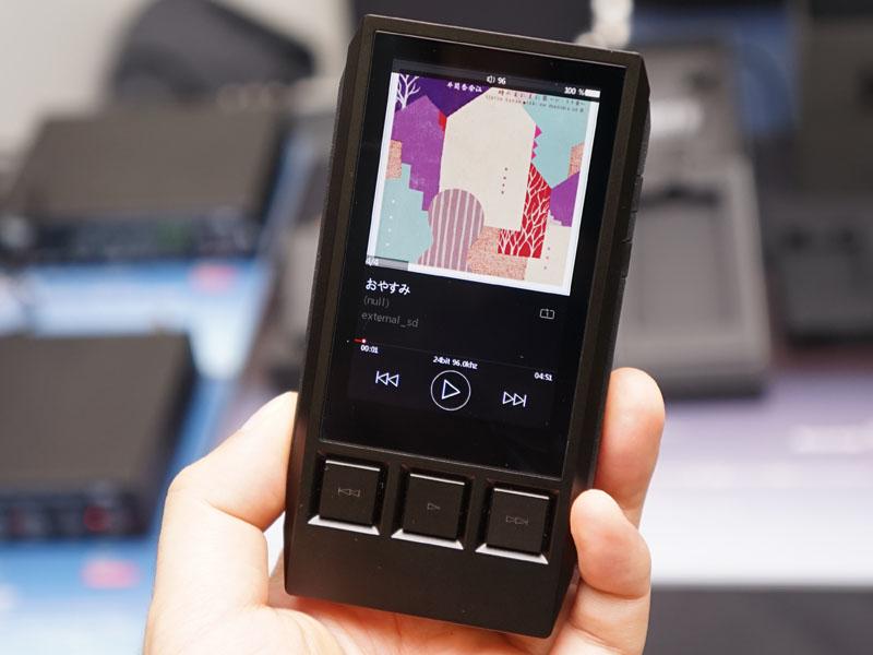ハイレゾ対応ポータブルオーディオプレーヤーの新モデル「DX80」