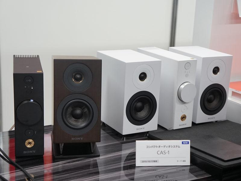 ハイレゾ対応の小型オーディオシステム「CAS-1」