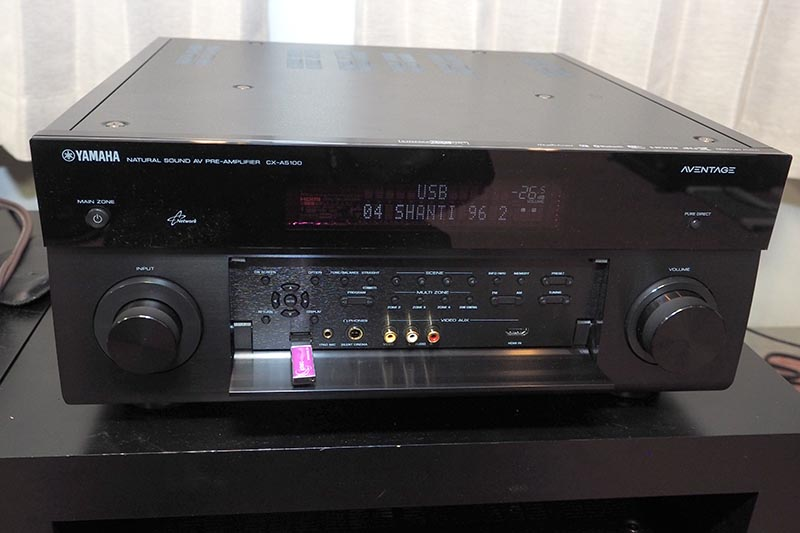 ヤマハのAVプリアンプ「CX-A5100」