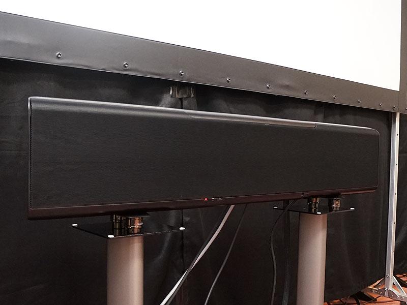 Dolby Atmos/DTS:X対応のYSP-5600をデモ