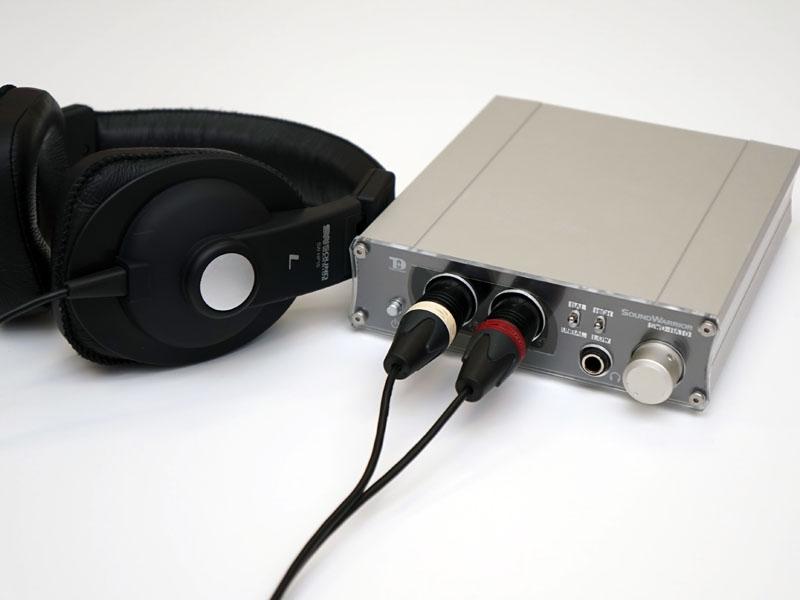 真空管バッファを採用したヘッドフォンアンプ「SWD-HA10」試作機と、ヘッドフォンSW-HP10のバランス・ハイレゾ対応モデル試作機「SW-HP20(仮称)」