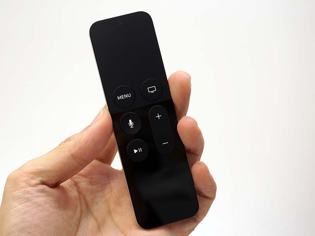 新リモコン「Siri Remote」