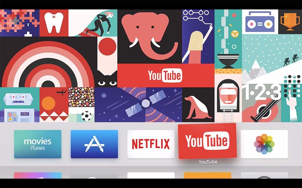 YouTubeアプリでは、新着コンテンツなどの更新表示にはまだ対応していないらしい