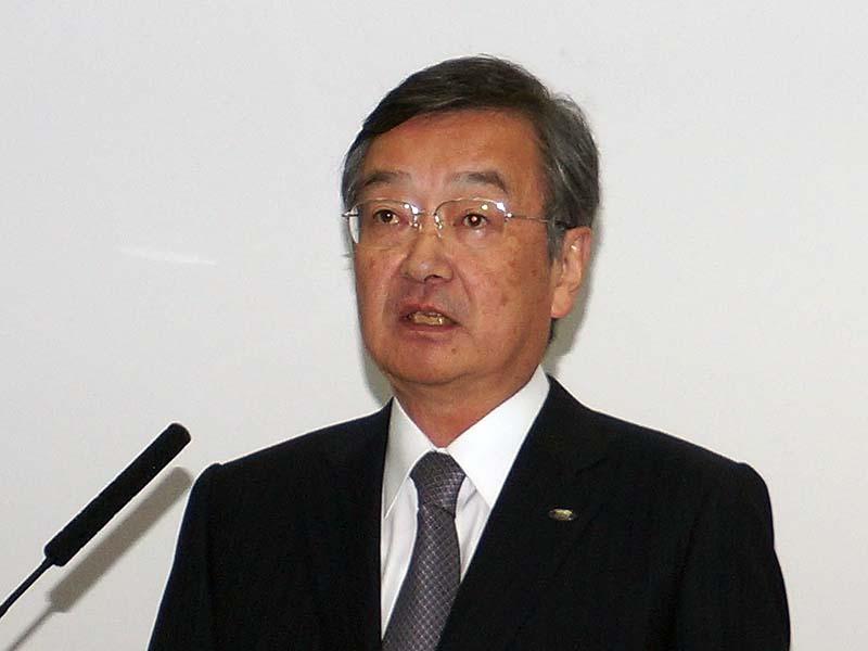 シャープ 高橋興三社長