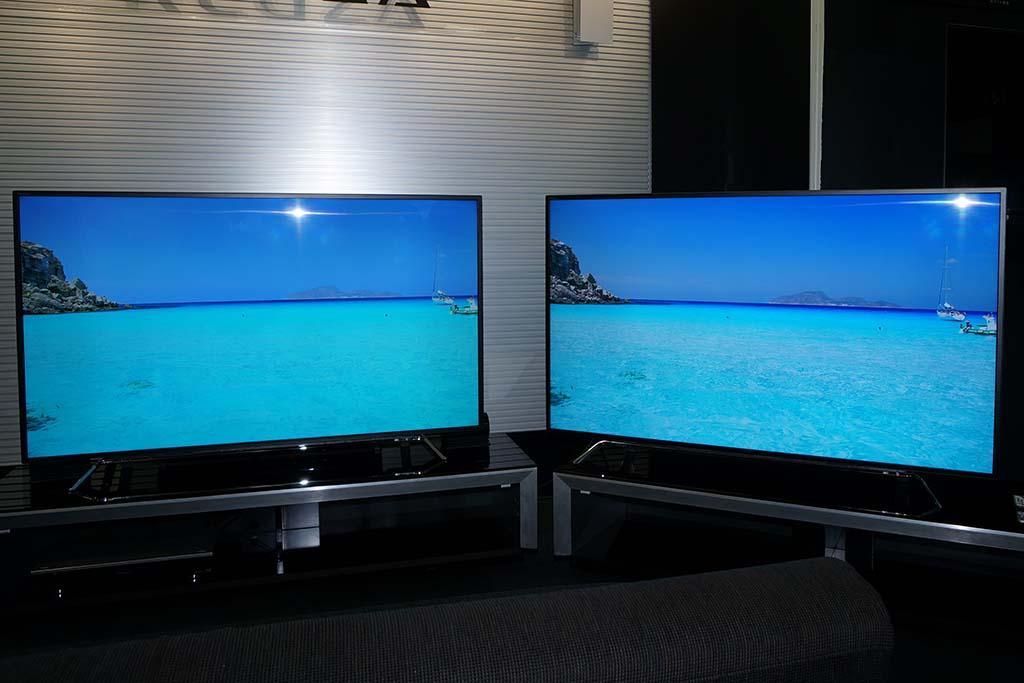 左がノーマル、右がZ20XでHDRを利かせた画面。単にコントラストが上がるだけでなく、全体の発色が良くなるとにも大きな効果がある
