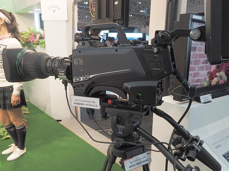4Kスタジオハンディカメラ「AK-UC3000」