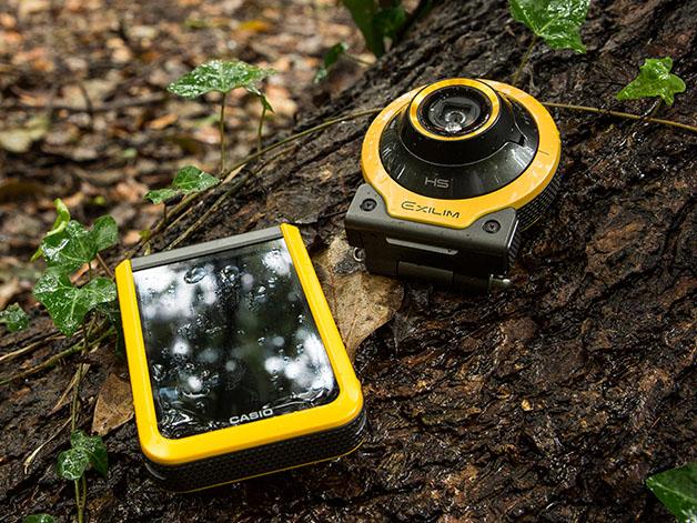 Outdoor Recorder「EX-FR100」の使用イメージ