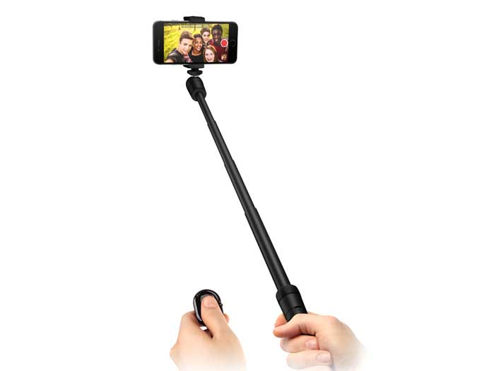 Bluetoothリモートシャッター付き「iKlip Grip」