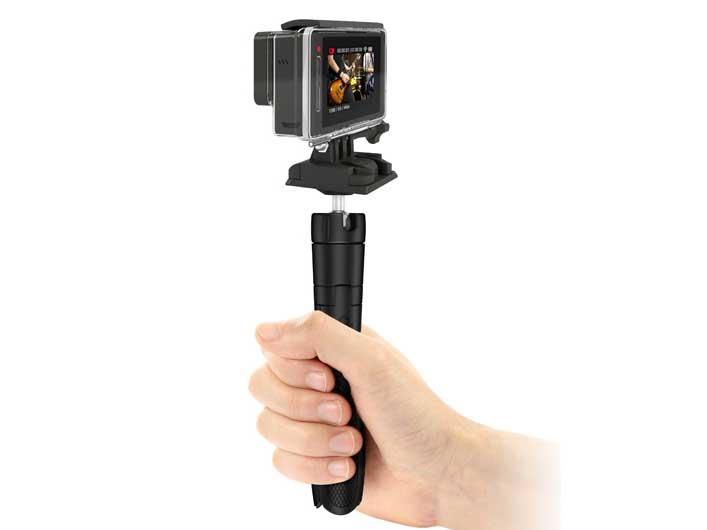 GoProを装着