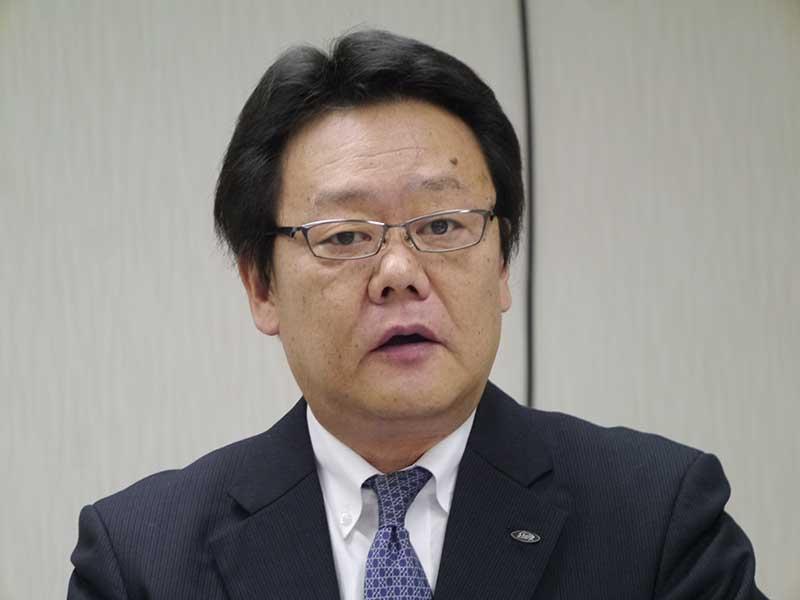シャープ執行役員 兼 シャープエレクトロニクスマーケティング社長の宮永良一氏