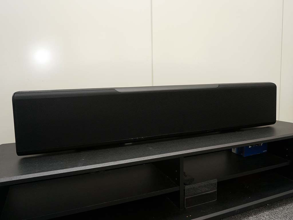 YSP-5600をラックに設置したところ