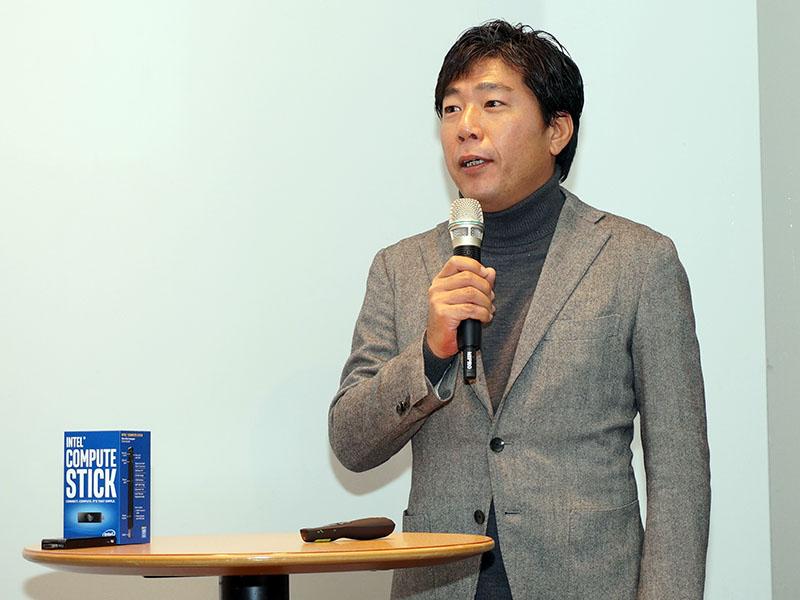 インテル マーケティング本部本部長の山本氏