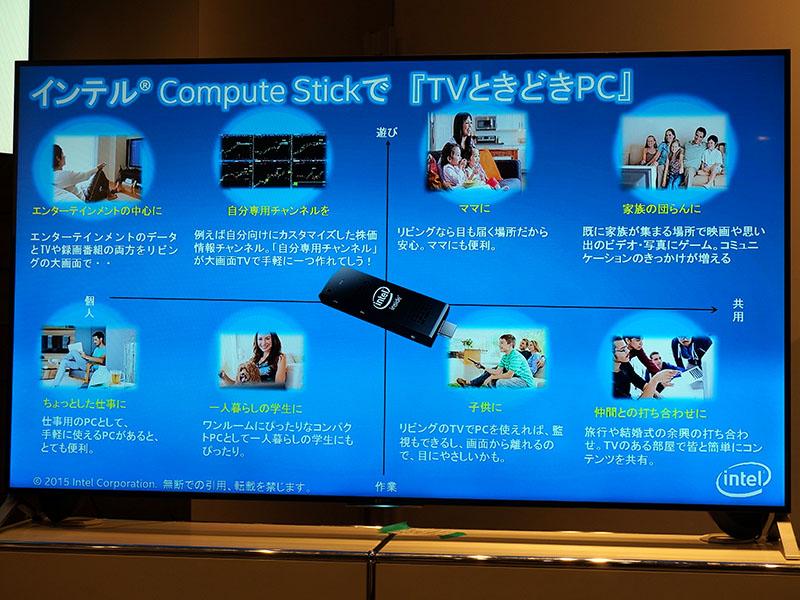 Compute Stickの利用シーンの例