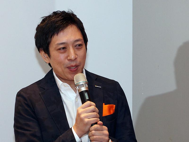 日本マイクロソフト 業務執行役員の越川慎司氏