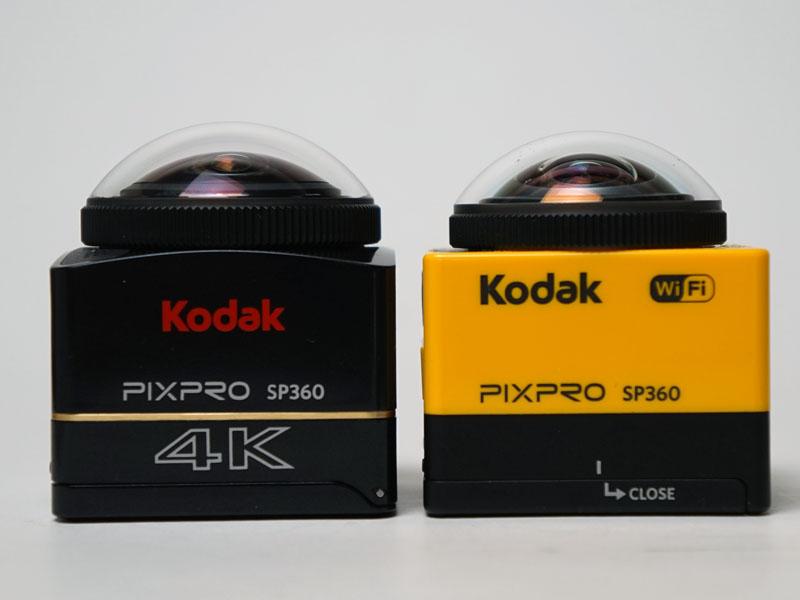 初代SP360(右)との比較