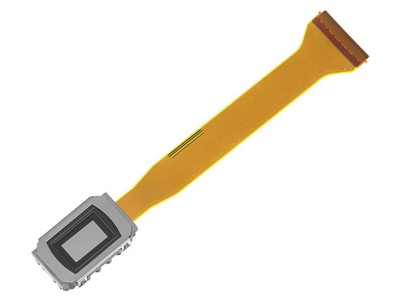 新開発の0.37型SXRDデバイス