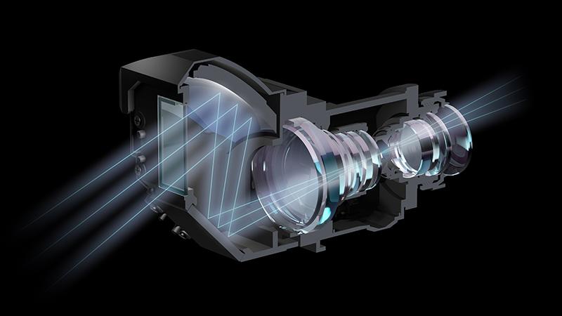 ソニー史上最小を謳う超短焦点レンズを内蔵