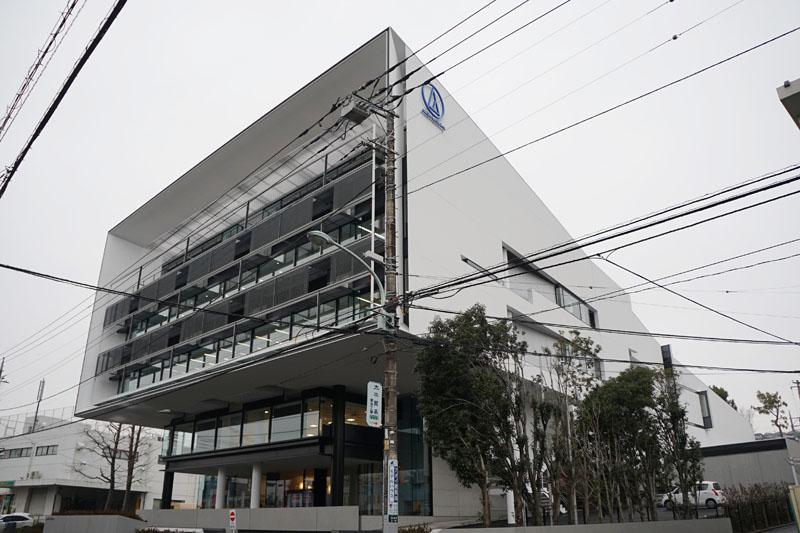 オーディオテクニカの新本社ビル