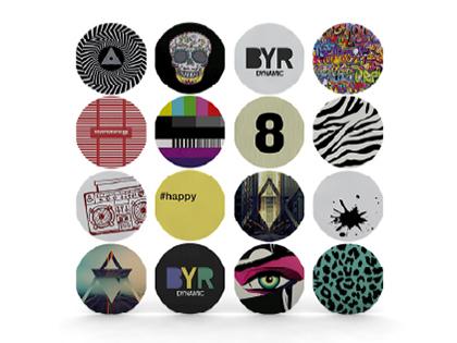 16種類のデザインカバープレートを用意
