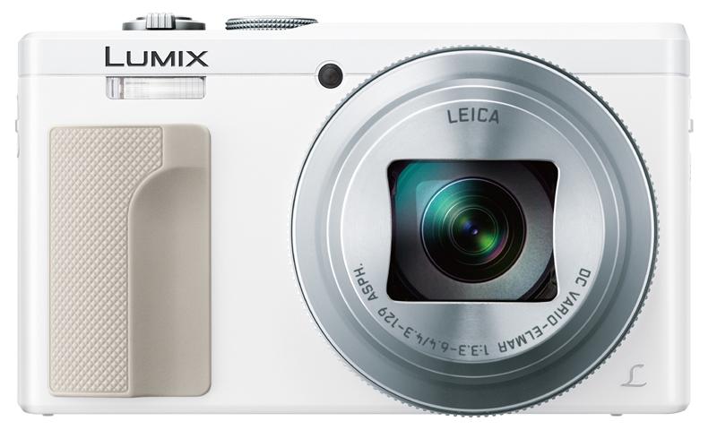 4K動画撮影対応で光学30倍ズーム「DMC-TZ85」。カラーはホワイトとシルバーの2色