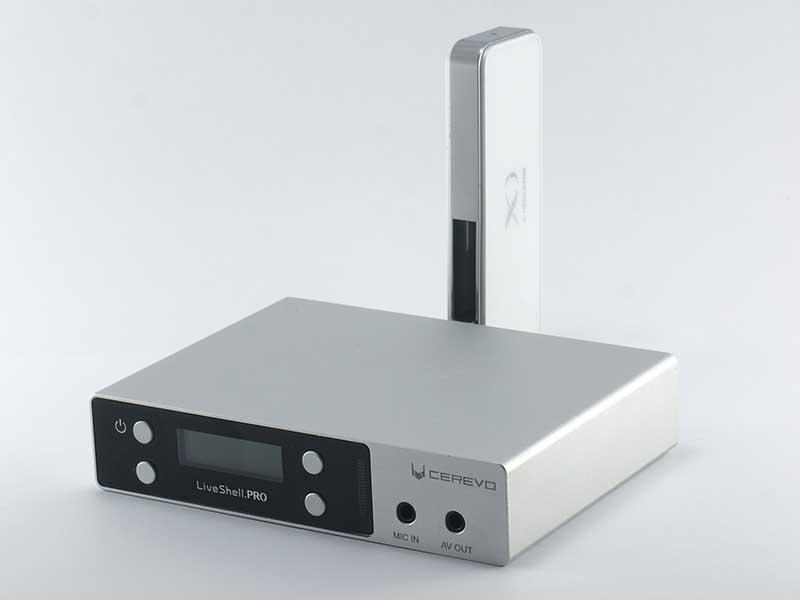 LTE対応USBモデム接続例
