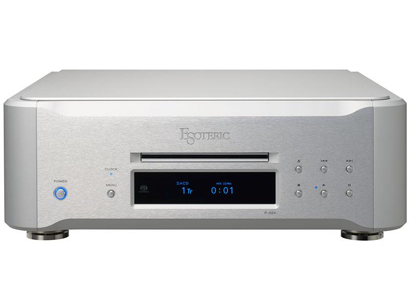 SACD/CD対応トランスポート「P-02X」
