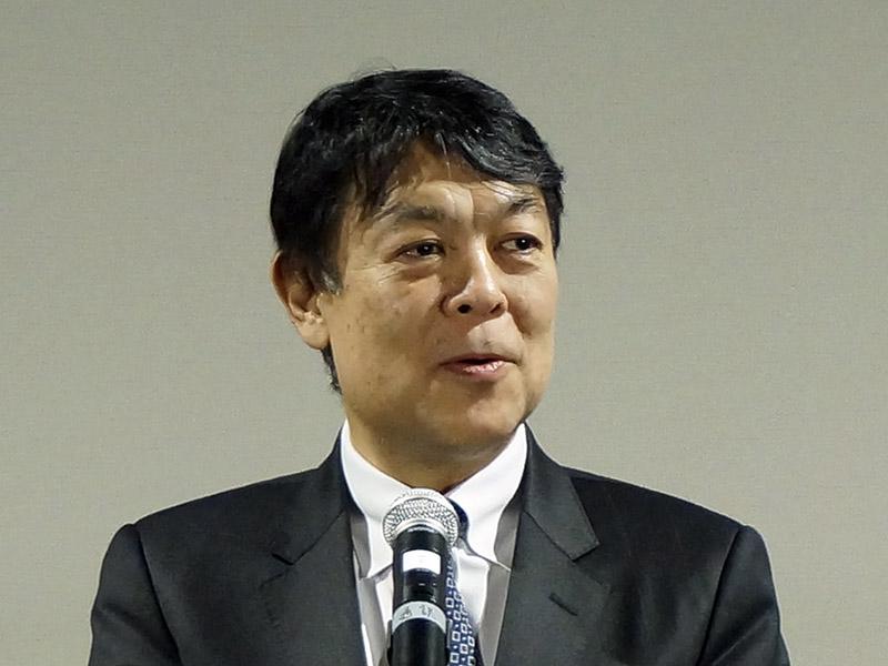 DEGジャパン会長の塚越隆行氏