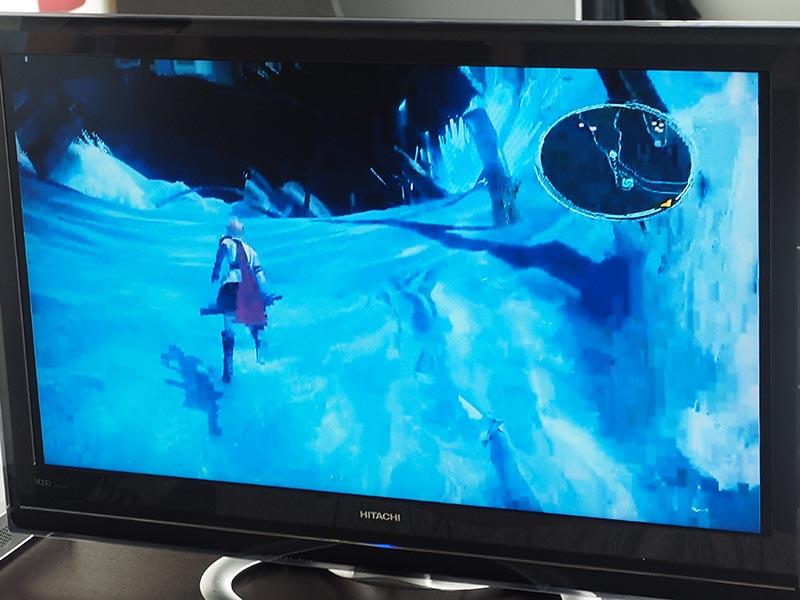「ファイナルファンタジーXIII Google Cast Edition」の画面例