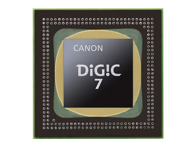 「DIGIC 7」をコンパクト機で初搭載