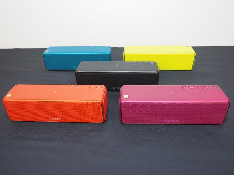 カラーは、チャコールブラック、シナバーレッド、ライムイエロー、ビリジアンブルー、ボルドーピンクの5色