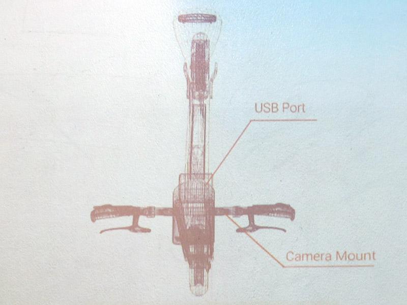 イメージ画像ではUSBポートやカメラマウントを備えることが分かる