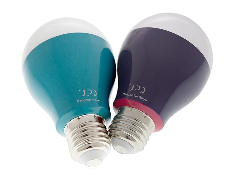 Bluetooth電球「Q-home BB01」にも新色navy & redを追加