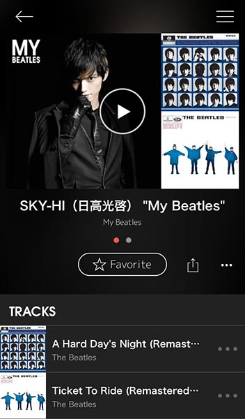 SKY-HI(日高光啓)のプレイリスト