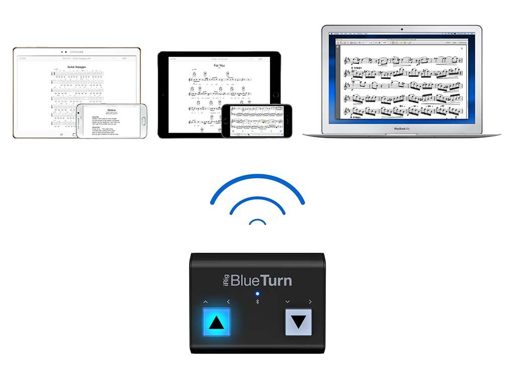 iPadなどをフットスイッチからコントロール