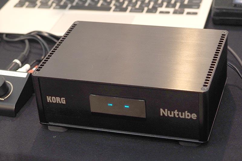 コルグの「Nutube」搭載ヘッドフォンアンプ試作機